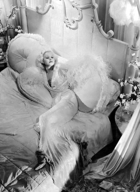 Jean Harlow 1933 in Dinner at Eight