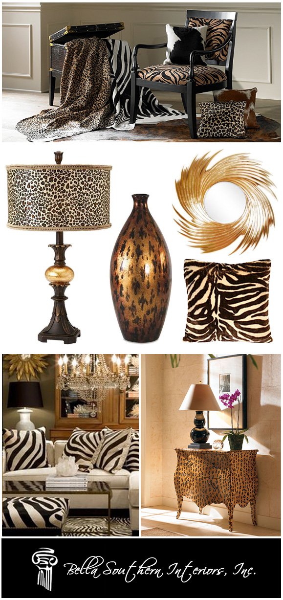 Interior Designers and Animal Prints