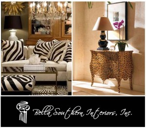 Interior Designers and Animal Prints – Taking a Walk on the Wild Side